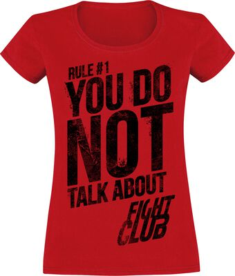 Rule No. 1 - Don't Talk About Fight Club