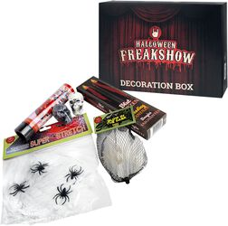 Halloween Freakshow Caja decoración