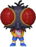 Figura Vinilo Treehouse Of Horror - Fly Boy Bart 820