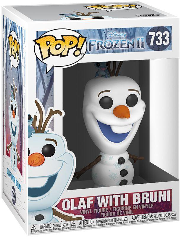 2 - Figura Vinilo Olaf With Bruni 733