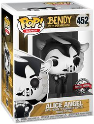 Bendy And The Ink Machine Figura Vinilo Alice Angel 452