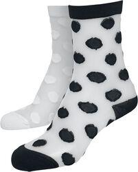 Net Socks Dots 2-Pack