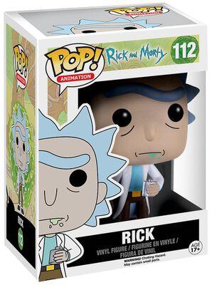 Figura Vinilo Rick 112