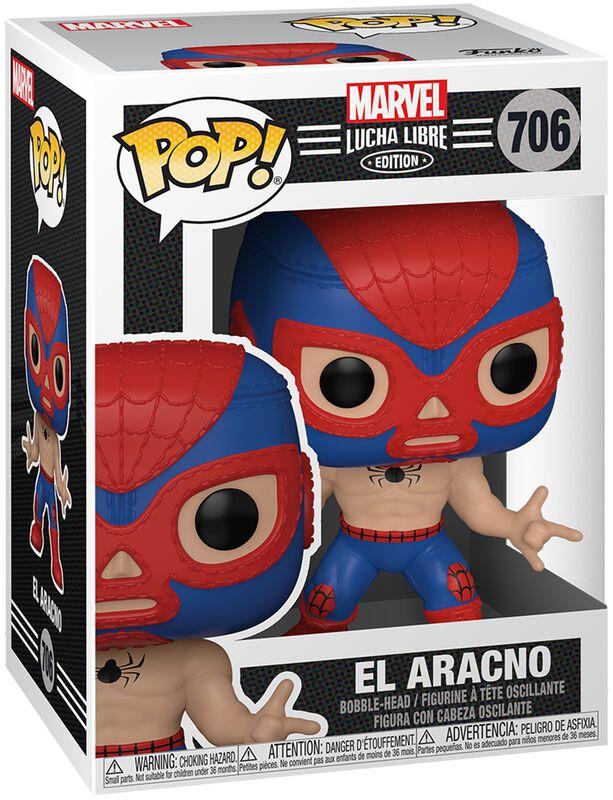 Figura vinilo El Aracno - Marvel Luchadores - 706