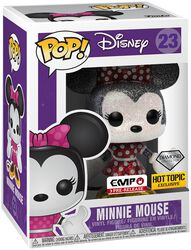 Figura Vinilo Minnie Mouse (Glitter) 23